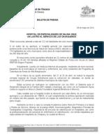08 de mayo de 2014_HOSIPTAL DE ESPECIALIDADES DE SALINA CRUZ, UN LUSTRO AL SERVICIO DE LOS OAXAQUEÑOS