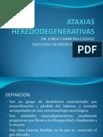 ATAXIAS HEREDODEGENERATIVAS 2012