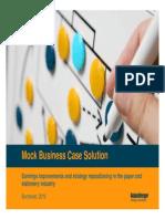 Roland Berger Practice Business Case Solution 20100201