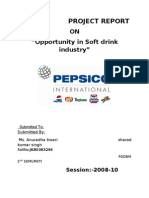 Opportunity in Soft Drink Industry
