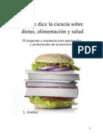 Lo Que Dice La Ciencia Sobre Dietas Alimentacion y Salud-muestra