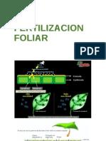 Fertilizacion foliar