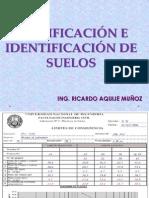 "Clase 8 Clasificaciã""n e Identificaciã""n de Suelos[1]"