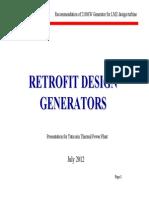 Retrofit Design Generators