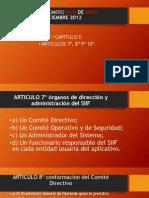 Órganos de Dirección y Administración Del Sistema Integrado