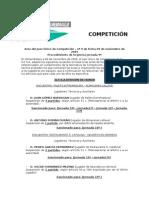 COMPETICIÓN Acta Jornada 9ª