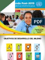 Presentación Mildred Samboy, PNUD Agenda Post-2015.