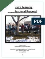 organizational proposal portfolio