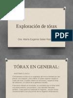 Exploración de Tórax