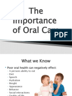 Oral Care Power Point