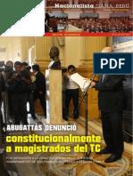 Boletín Nº 15 del Grupo Parlamentario Nacionalista Gana Perú