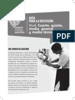 Guía Para La Discusión Cuarto, Quinto y Media Técnica