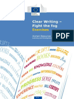 Clear Writing Exercises