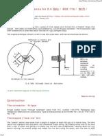 Biquad Sector Antenna 2