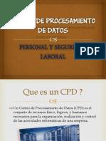 19 Personal y seguridad Laboral en un CPD.pdf