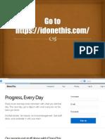 How to use Idonethis by Vhon Vega