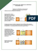 Montaza i odrzavanje ISEA uredjaja za tretman otpadnih voda - Upute -2. dio