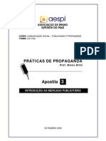 Prat Propaganda Apostila03-Introducao Mercado Publicitario