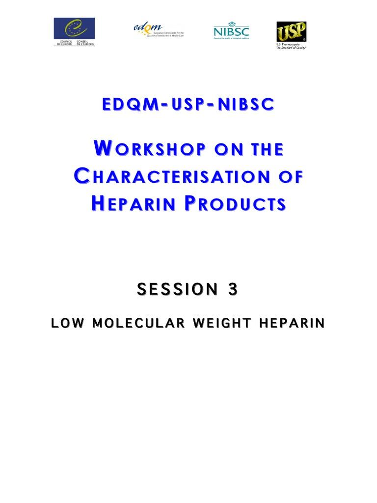 usp heparin sodium molecular weight calibrant rs