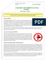 Pcbs in Fish (Fact Sheet)