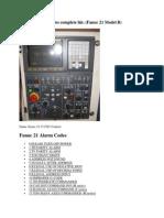 Fanuc 21 Alarm Codes Complete List