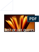 Best of Life Quotes