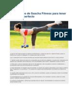 10 Consejos de Sasha Fitness