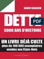Dette 5000 Ans d Histoire