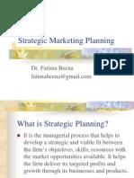 Strategic Marketing Planning