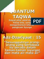 Quantum Taqwa