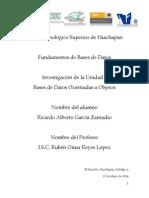 Investigación Unidad 7 Ricardo Alberto García Zamudio