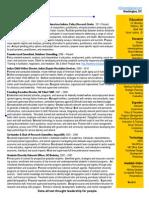 Zenone 1page Resume 2014