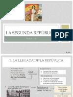 Tema 13 La IIª República