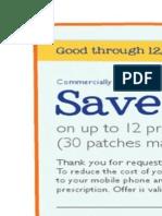 Daytrana Savings