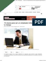 10 claves para ser un empleado indispensable en tu trabajo - Management Journal.pdf