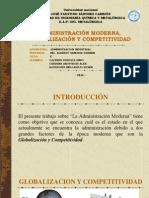 Administración Moderna, Globalización y Competitividad