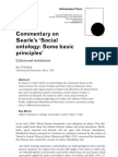 D'Andrade - Commentary on Searle's Social Ontology