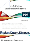 true colors major exploration workshop