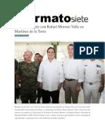 09-05-2014 Formato siete - Se reúne Duarte con Rafael Moreno Valle en Martínez de la Torre.
