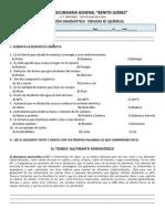 diagnóstico Química 2013