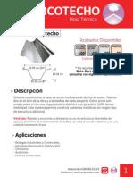 Arcotecho Ficha Tecnica AceroMart