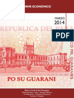 Informe Economico Marzo 2014