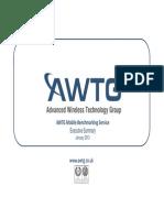 AWTG benchmarking