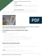 Desodorante en Barra_ Natural, Ecológico y Muy Económico _ La Bioguía