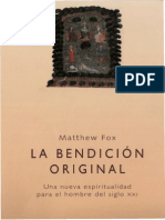 Fox, Matthew - La Bendicion Original (Obelisco) Con Notas