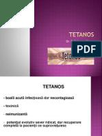 Curs 6 Tetanos