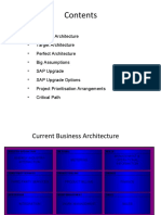 Architecture and Roadmap