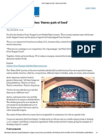 """""""Price Chopper Launches 'Theme Park of Food'"""""""