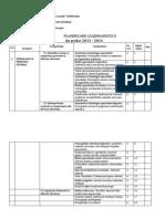 Planificare Semio+MI Balneo I Dr. Isac