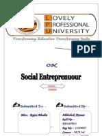 Social Entreprenuour